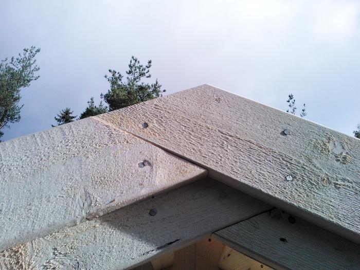 лобовая доска каркасный дом