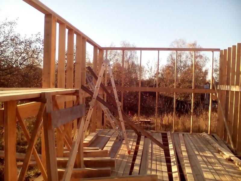 двойная обвязка каркасный дом (2)