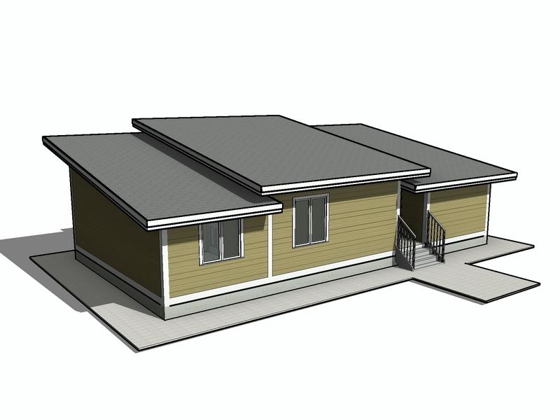 каркасный дом крыша несколько скатов