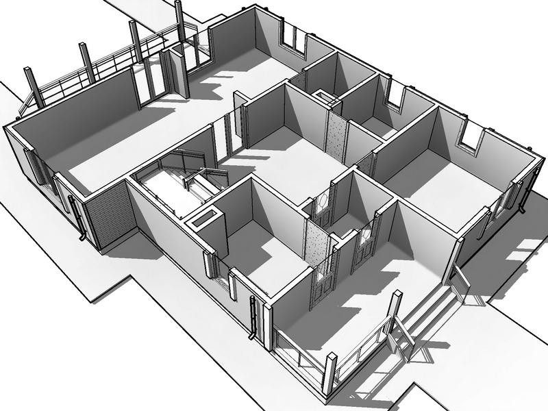 каркасный дом проект 170 квадратов