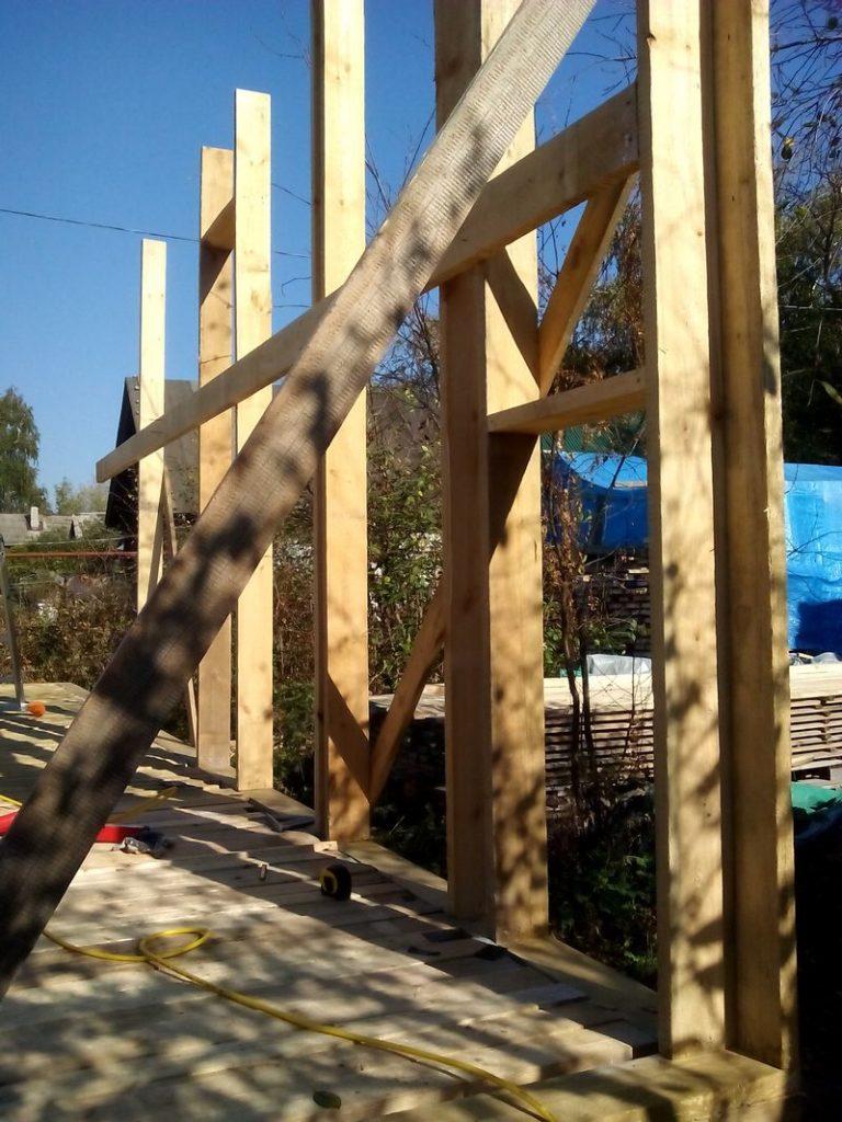 каркасный дом стены постоечно (2)
