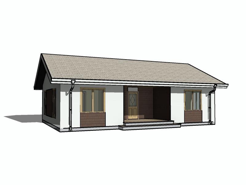 каркасный дом 1 этаж 8 на 12 (1)
