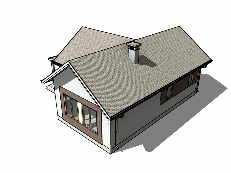 каркасный дом 12 на 9 проект
