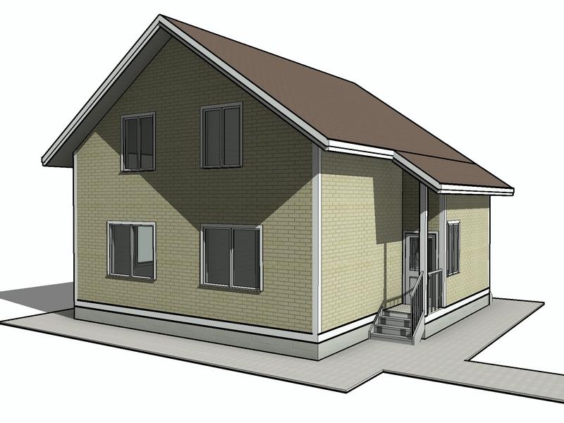каркасный дом 150 квадратов (1)