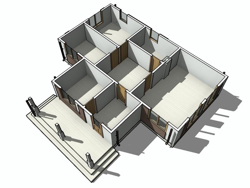 каркасный дом 91 кв м