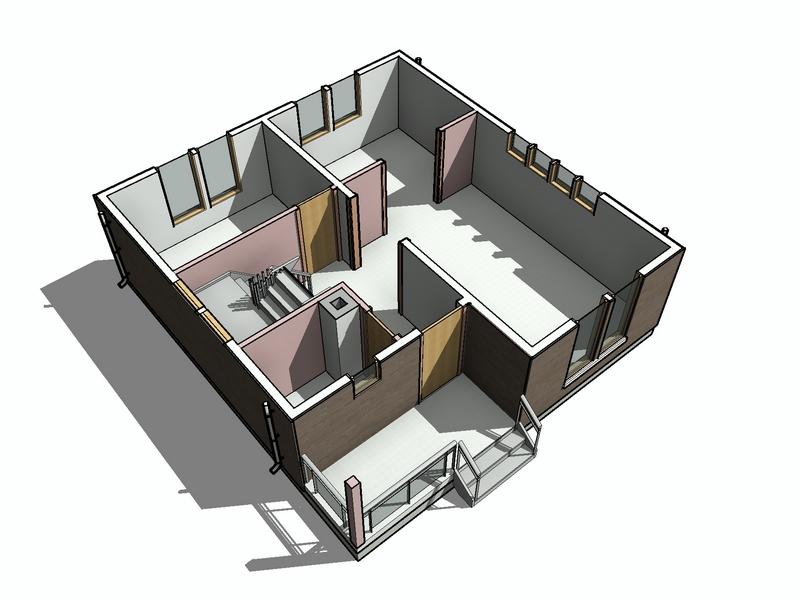 каркасный дом 96 квм