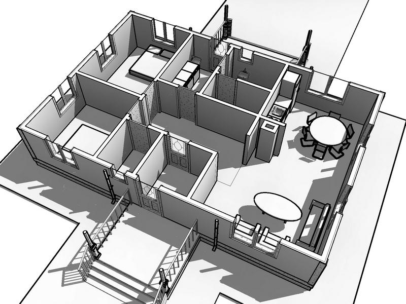 каркасный одноэтажный дом 100 квм