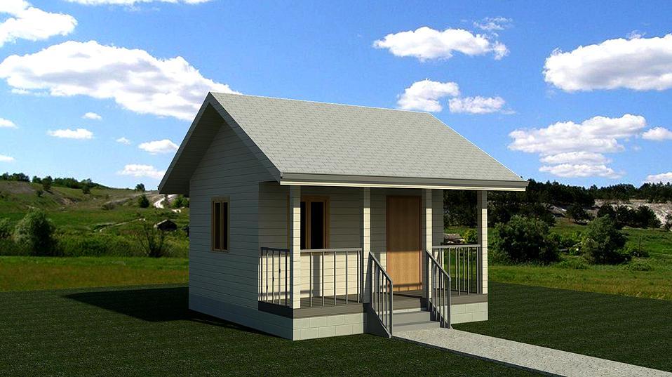 проект каркасного дома дачник