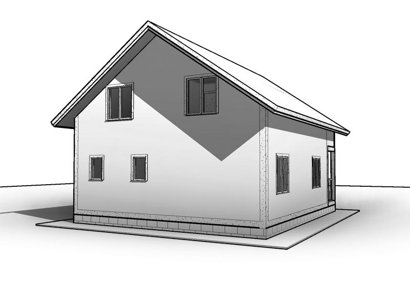 проект каркасный дом 10 на 10 (1)