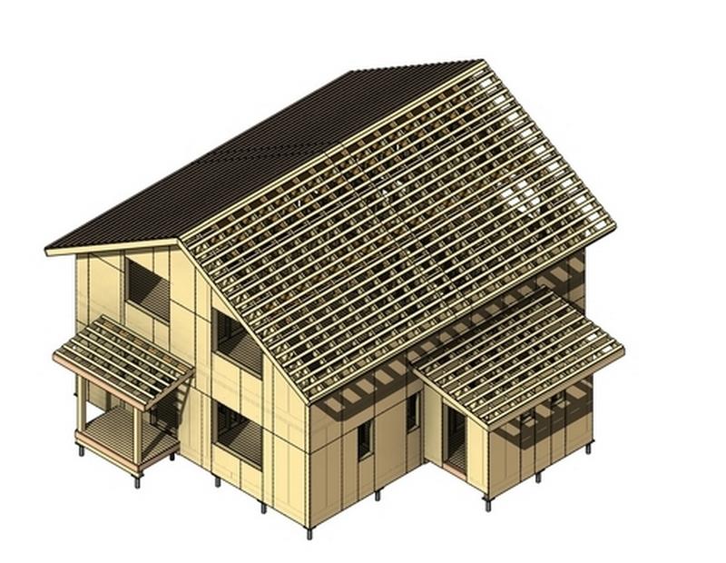 Проектирование каркасных домов программа скачать бесплатно