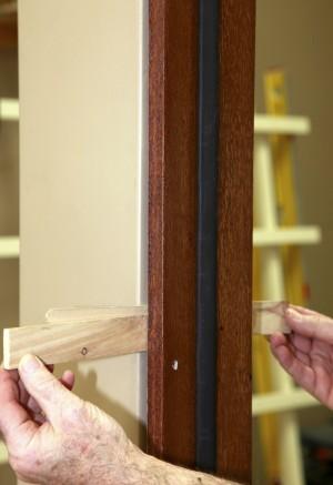 межкомнатная дверь установка фото