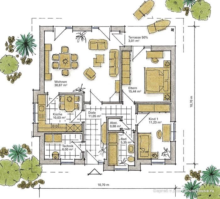 планировка одноэтажного каркасника (1)
