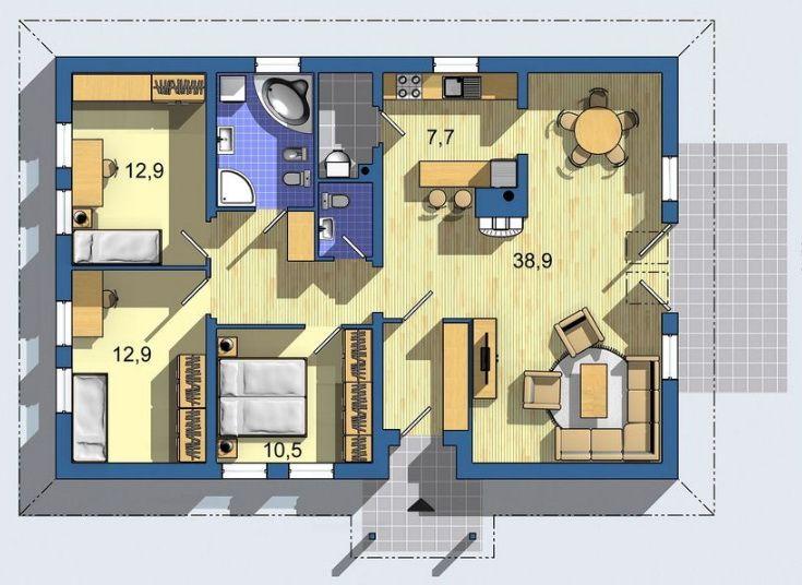 планировка одноэтажного каркасника (4)