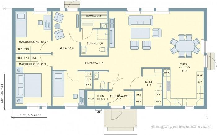 планировка одноэтажного каркасника (6)