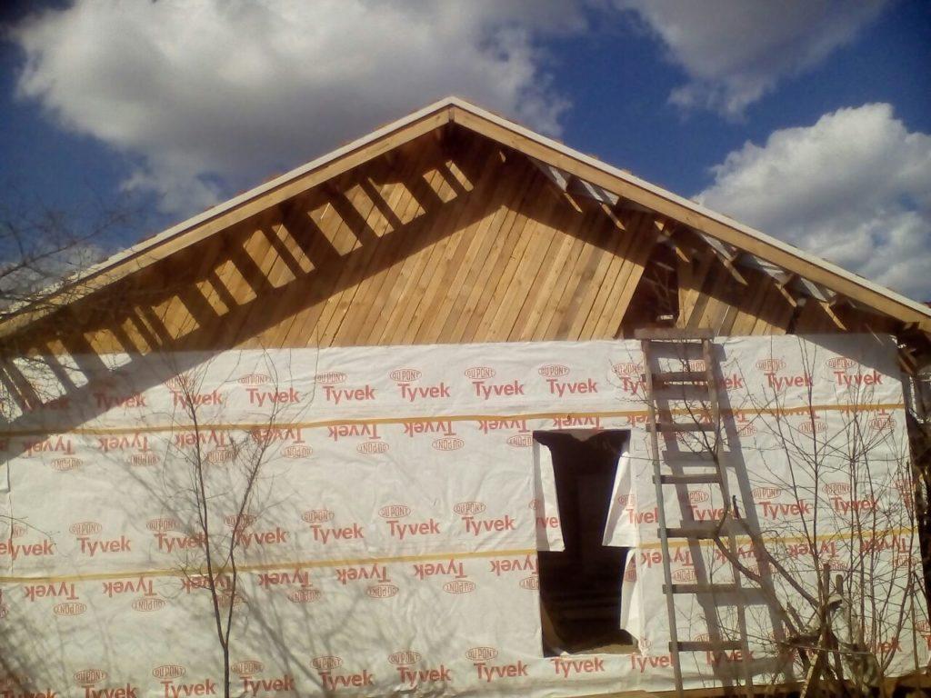 фронтонные доски каркасный дом