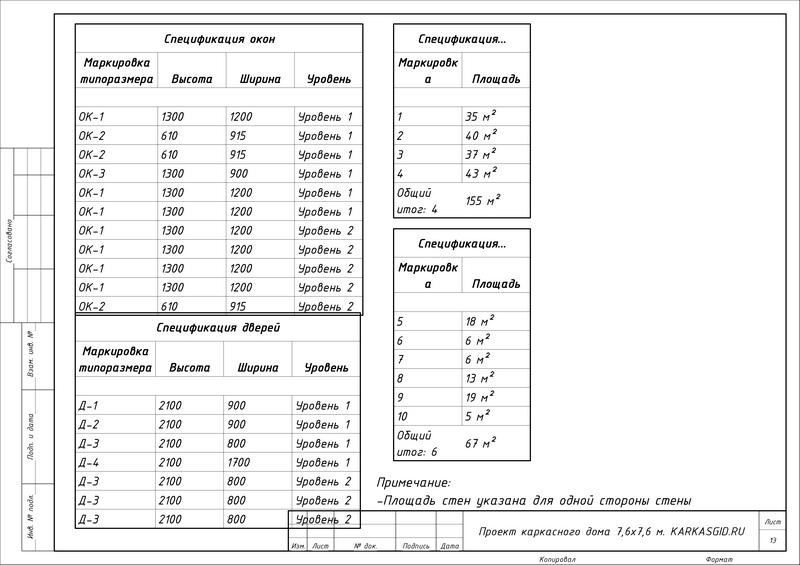 Проект Дружба - Лист - 13 - Спецификации